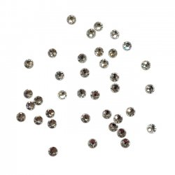 Swarovski crystal clear 2,5 mm 36 st