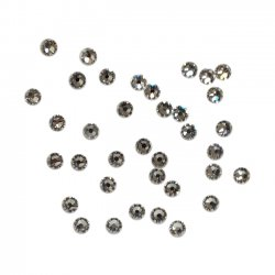 Swarovski crystal clear 3 mm 36 st