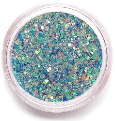 Glitter Mix Shining Dark Blue