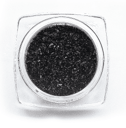 Glitter powder Thin Black