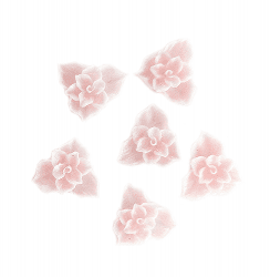Fimo Flower-Thin-02-Small-Pink