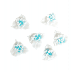 Fimo Flower-Thin-02-L Blue