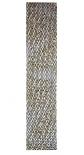 Nail Sticker Textile Gold