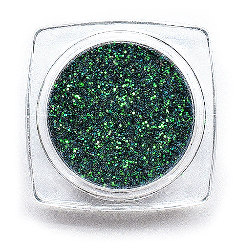 Glitter Rainbow 0,2mm Dark Green