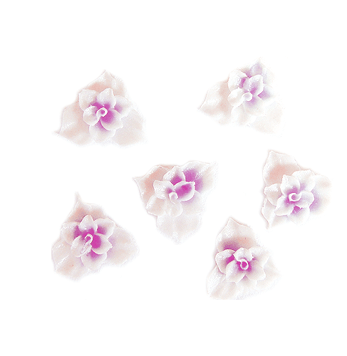 Fimo Flower-Thin-02-L Purple