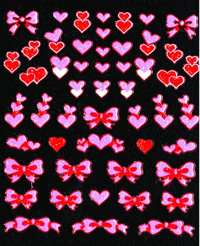 Valentines Day - 3D Nail Sticker -104