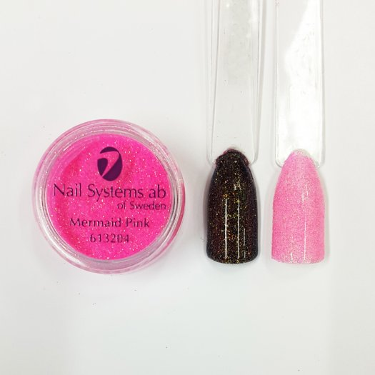 Mermaid glitter pink