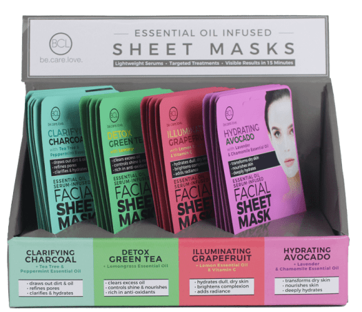 Facial Sheet Mask - display
